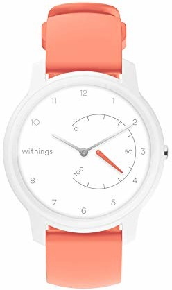 Withings Move  zegarek fitness  śledzi kroki, spalone kalorie i sen  wodoszczelny z łączonym GPS i chronografami  synchronizacja Bluetooth dla iPhone i Android - Withings Move - Fitnessuhr