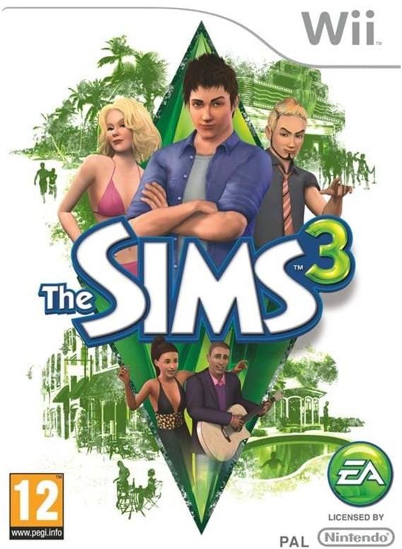 Nintendo Gra Sims 3 Nintendo Wii) 62847