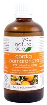 Your Natural Side Your Natural Side Woda gorzka pomarańcza 100% naturalna 100ml 1234586817