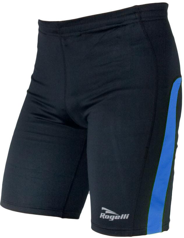 Rogelli RUN DIXON męskie spodenki sportowe czarno-niebieskie