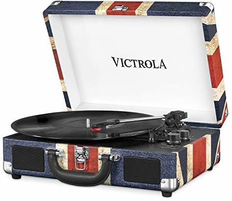 Victrola Suitcase Turntable 3-biegowy Bluetooth gramofon do bagażnika