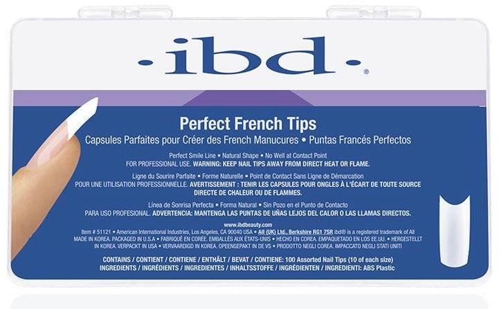 IBD Tipsy do French Manicure 100 szt.