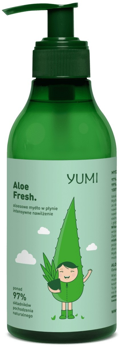 Eva Natura YUMI YUMI aloesowe Aloe Fresh 300 ml 300 ml   SZYBKA WYSYŁKA!