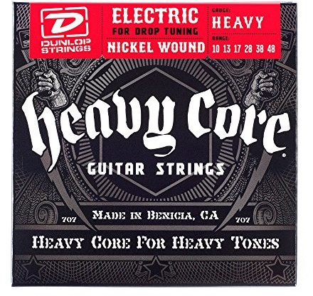 Dunlop Heavy Core Electric Guitar Strings 38121104801