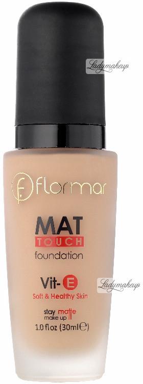 Flormar MAT TOUCH FOUNDATION - Soft & Healthy Skin - Matujący podkład do twarzy - M314 FLOTSSPTW-DOTW-09
