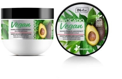Aloe Vera Revers cosmetics Balsam do ciała z olejem z awokado i żelem INelia VEGAN 250ml 248E-23969