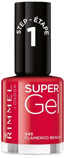 Rimmel Super Gel żelowy lakier do paznokci 045 Flamenco Beach 12ml