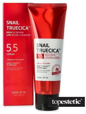 Some By Mi Some By Mi Snail Truecica Miracle Low pH Cleanser Łagodny i delikatny żel oczyszczający o niskiej wartości pH 100 ml
