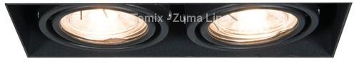 Zuma Line Lampa wpuszczana ONEON DL 50-2 SPOT 94362-BK)