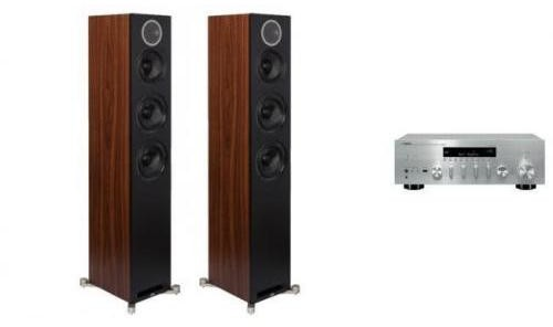 Yamaha R-N803D S + ELAC DEBUT REFERENCE F5