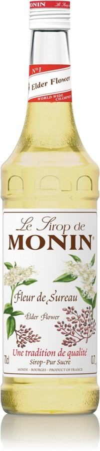 Monin Syrop Czarny bez   0,7L SC-908092