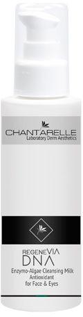 Chantarelle REGENEVIA DNA mleczko enzymatyczno-algowe do demakijażu twarzy i oczu, antyoksydacyjne, 200ml CD0124