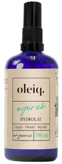 Oleiq Oleiq Hydrolat ogórek 100ml