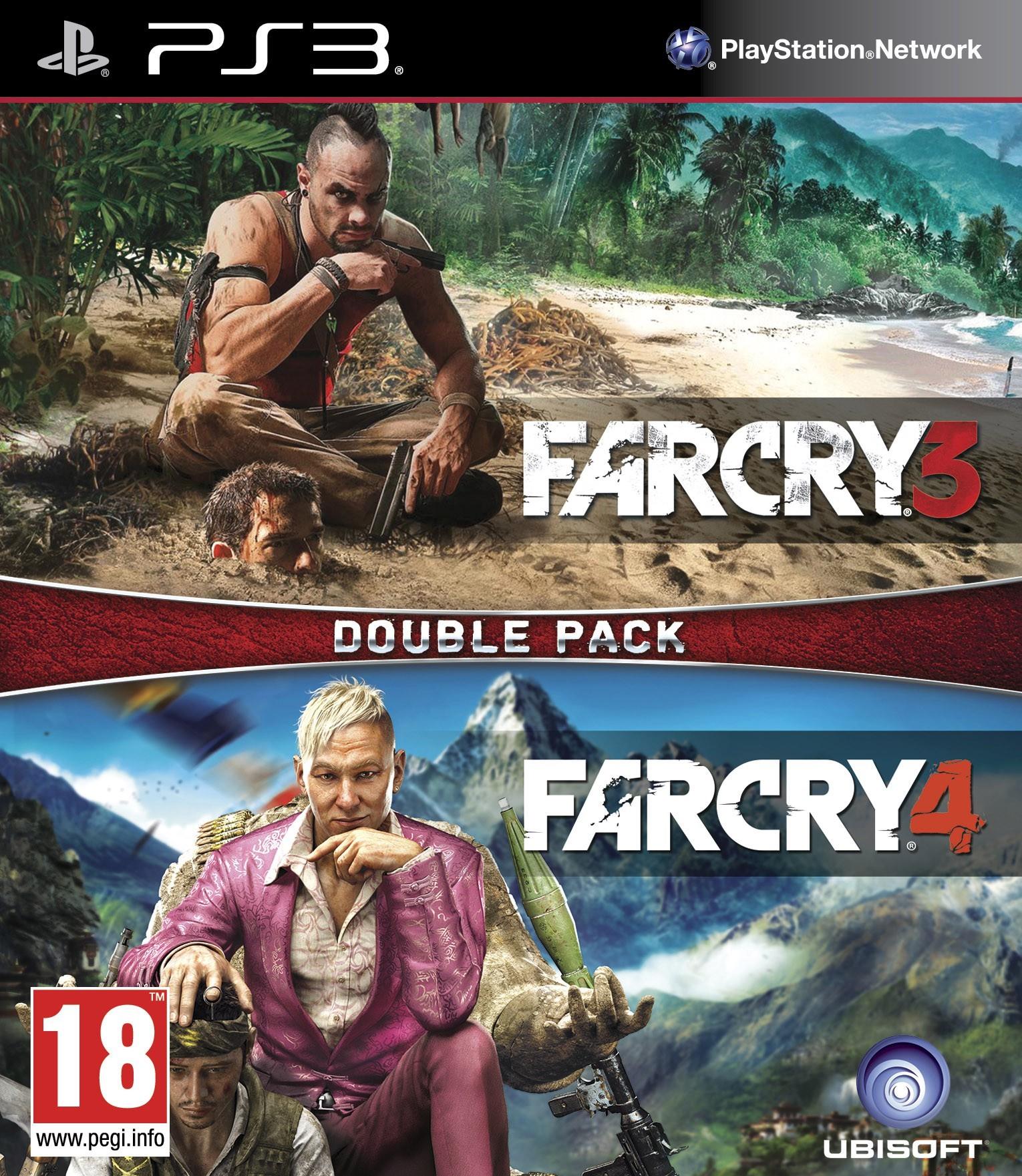Far Cry 3 + Far Cry 4 (Double Pack) (GRA PS3)