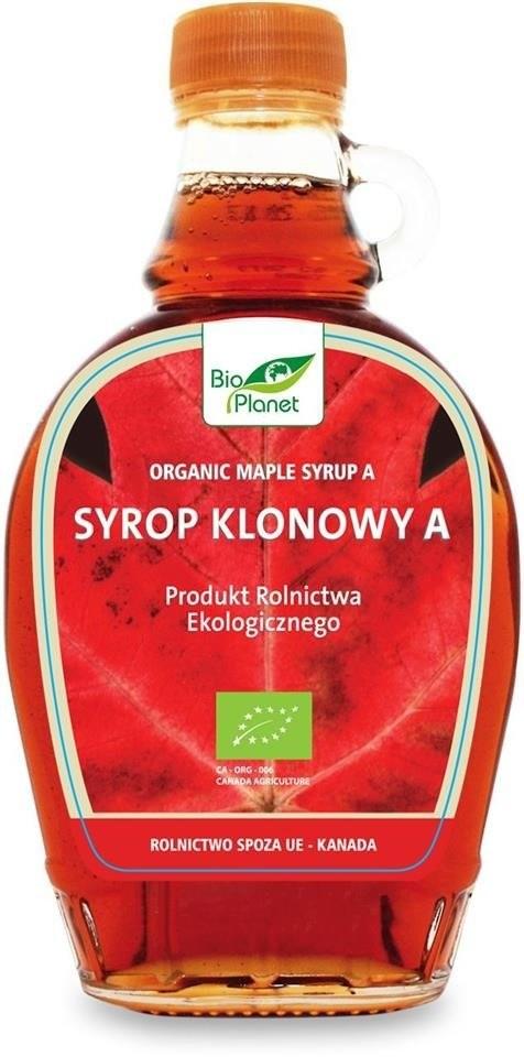 Bio Planet seria CZERWONA SYROP KLONOWY A BIO 250 ml bioplanet-5907814661234
