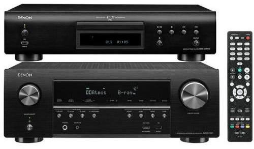 Denon AVR-S750H + DCD-800NE