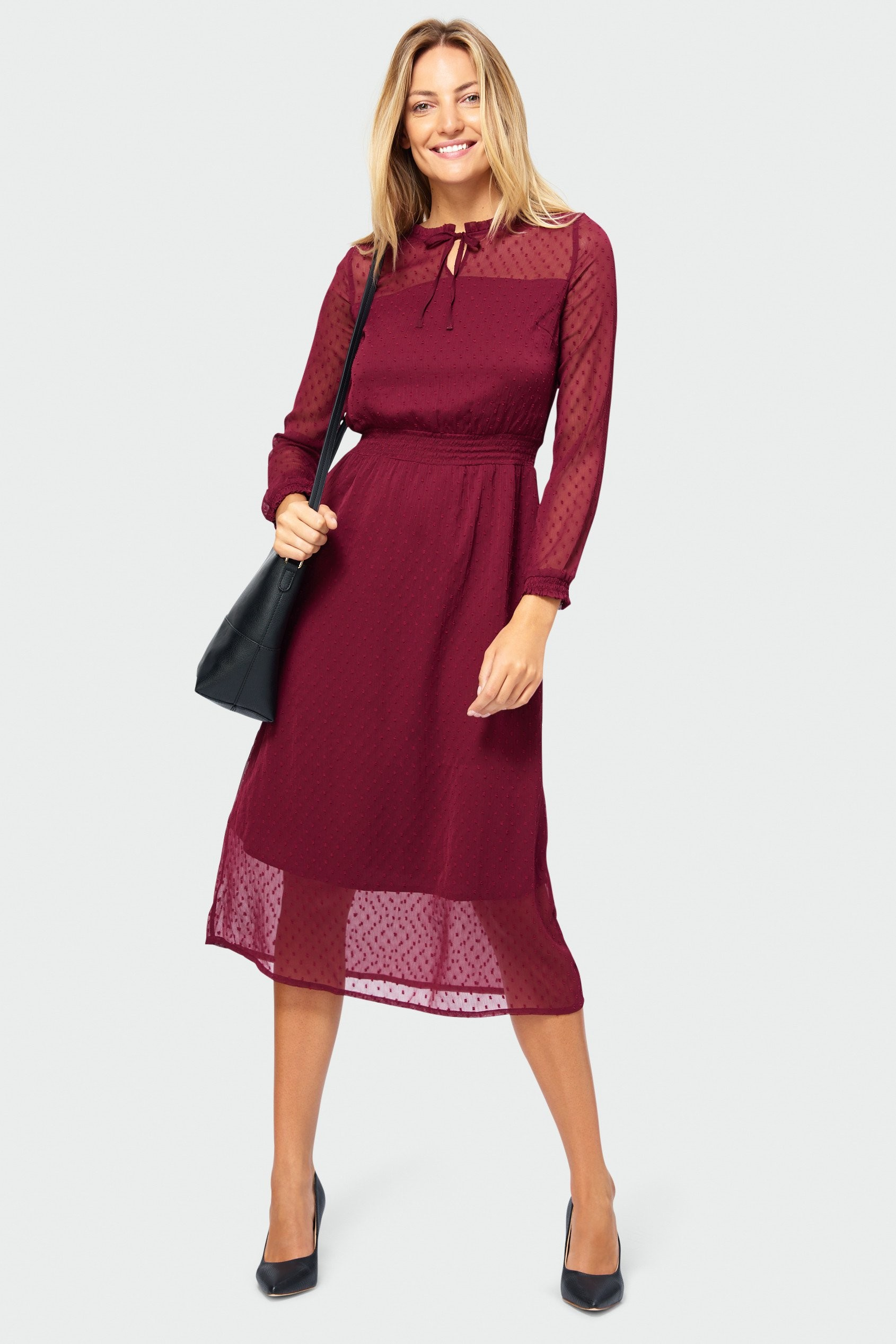 Elegancka sukienka SUK500W19DOT05