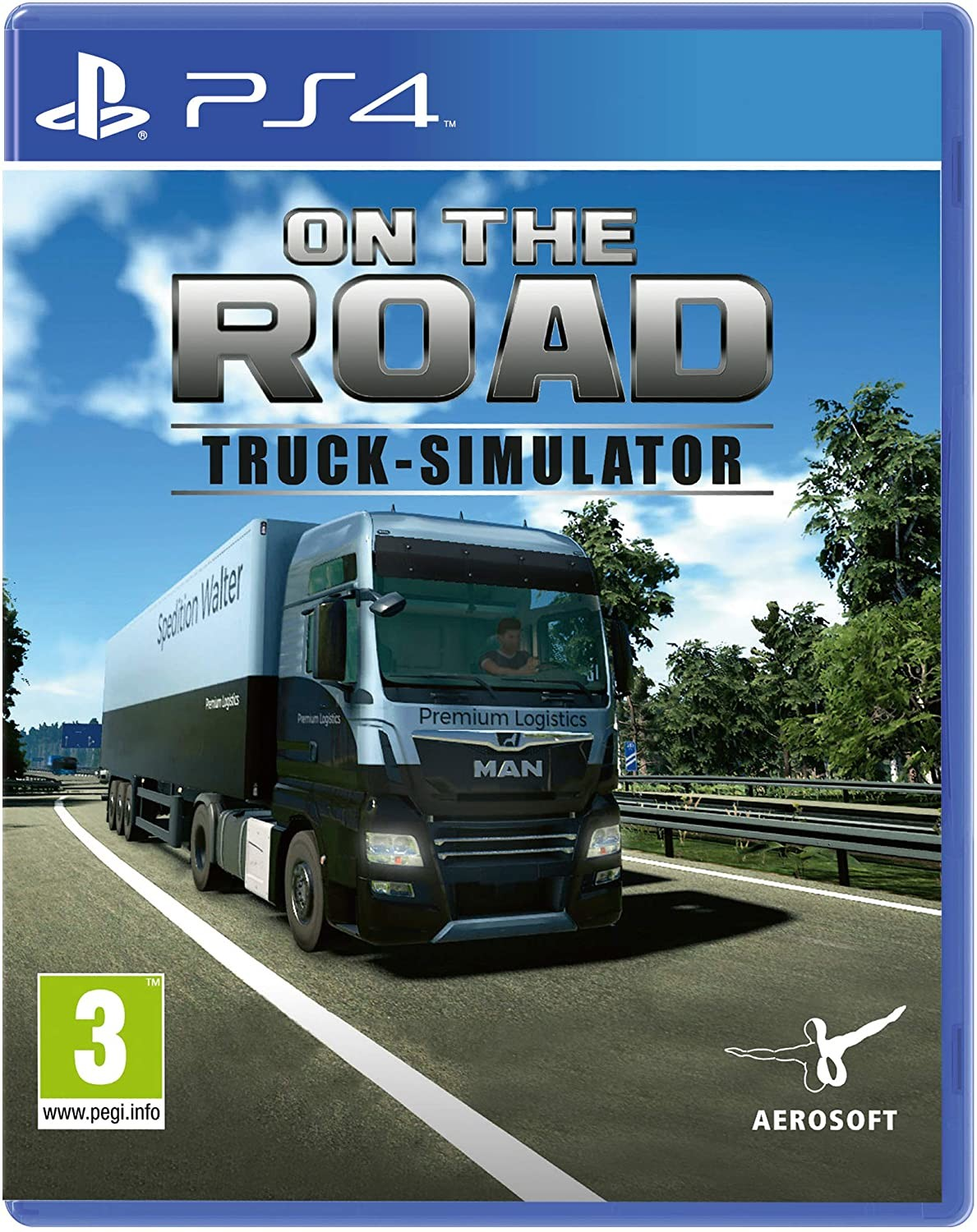 On The Road - Truck Simulator (GRA PS4)