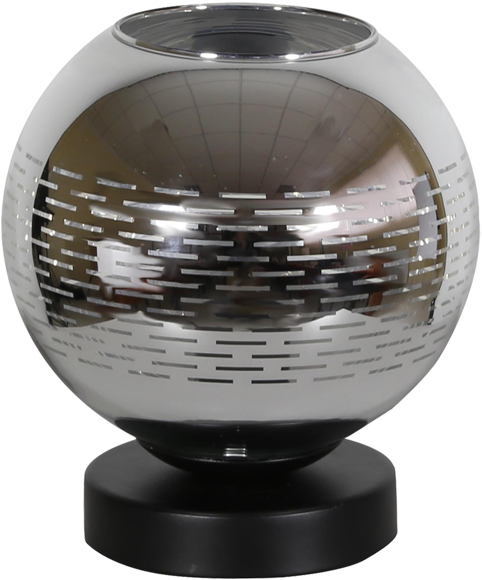 Candellux TRIO 2 LAMPA GABINETOWA 1X60W E27 CHROM 41-62871