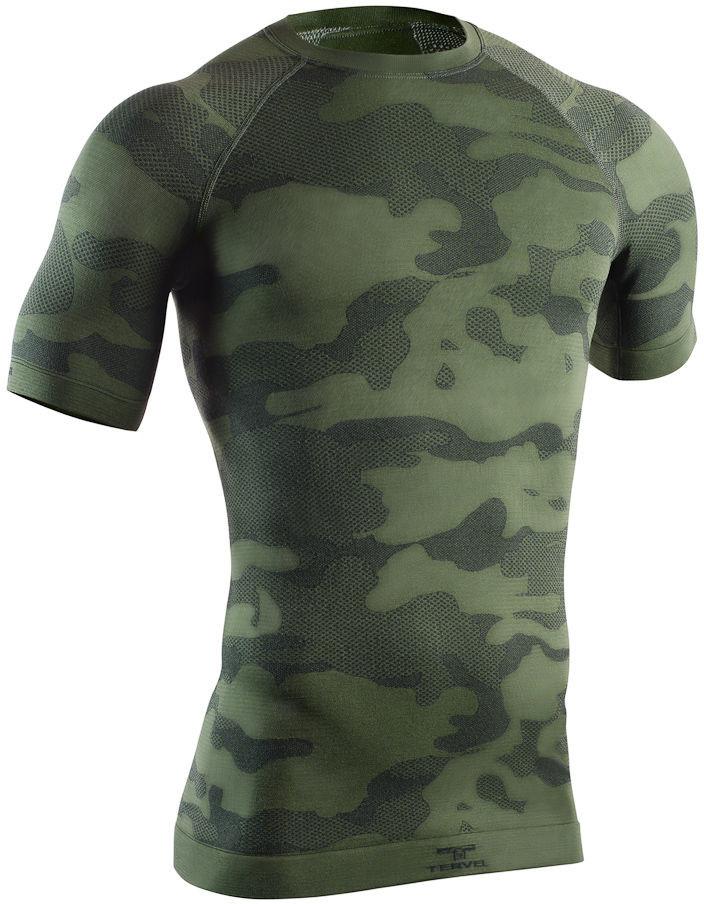 TERVEL Koszulka męska krótki rękaw Optiline Light Tactical OPT L1103 military-grey 77092-7319