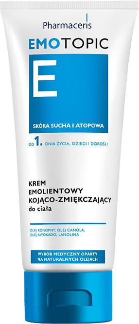 DR IRENA ERIS Pharmaceris E Emotopic krem emolientowy kojąco-zmiękczający do ciała 200 ml   DARMOWA DOSTAWA OD 199 PLN!