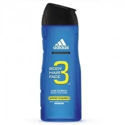 Adidas 3in1 Sport Energy żel pod prysznic 250ml M)