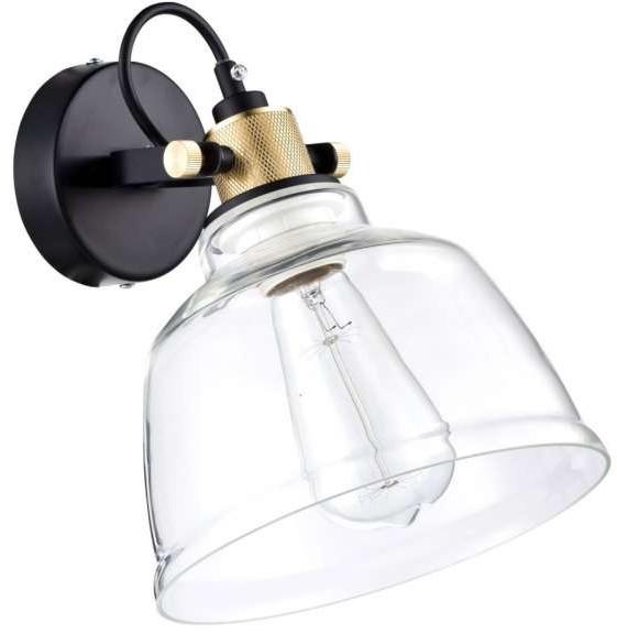 Maytoni Kinkiet LAMPA ścienna IRVING T163-01-W  industrialna OPRAWA szklana loft przezroczysta Maytoni