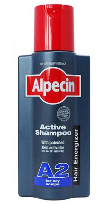 Alpecin szampon do tłustej skóry głowy A2, 250 ml