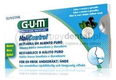 Sunstar GUM Butler HaliControl 10szt. (3060) - tabletki do ssania zwalczające nieświeży oddech (halitozę)