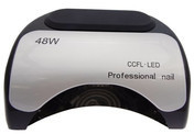 Beauty System Lampa LED do paznokci 48W Czarna CFL06 CFL06 BLACK