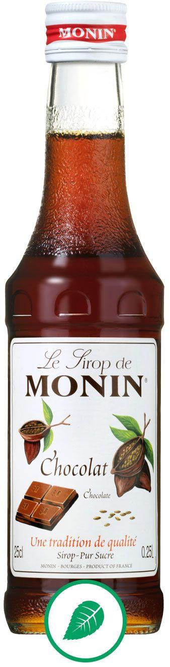 Monin Syrop Czekolada Chocolate 0,25l 907020 sc-907020 sc-907020