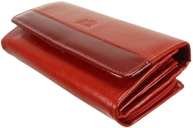 acaec9485d6e6 Perfekt Plus PERFEKT PLUS P/50 A zamek/zatrzask czerwony wstawka, portfel  damski