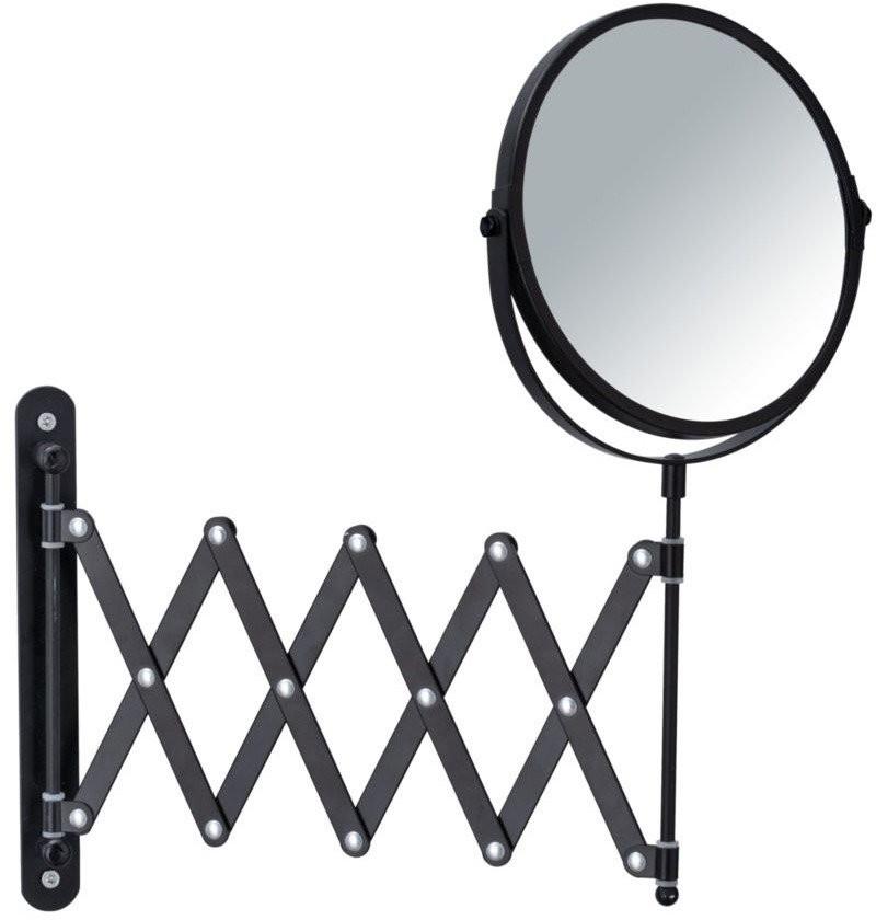 WENKO Lusterko kosmetyczne EXCLUSIV teleskopowe czarne 24100100