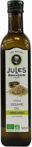 Jules Brochenin OLEJ SEZAMOWY VIRGIN BIO 500 ml -