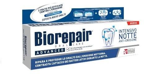Biorepair Pasta Biorepair Advanced Intensivo Notte Anti-Erosione 75 ml (włoska)