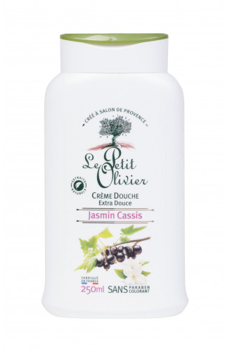 Le Petit Olivier Shower Jasmine Blackcurrant krem pod prysznic 250 ml dla kobiet