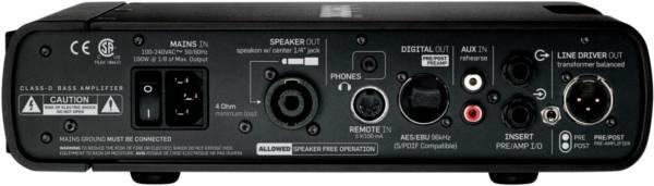 TC Electronics RH750 Head basowy