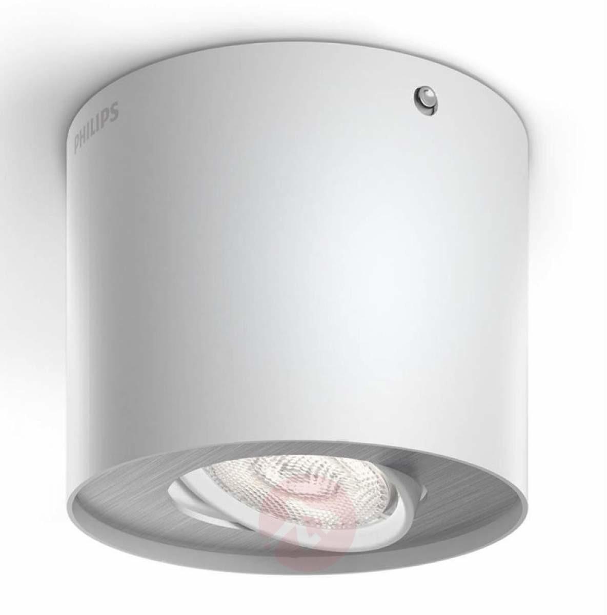 Biały reflektor LED Phase
