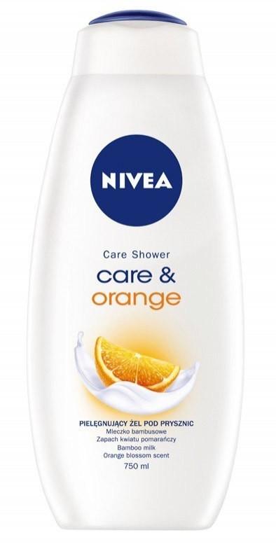 Nivea Bath Care Żel pod prysznic Care & Orange 750ml