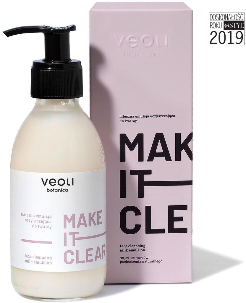 Veolibotanica Veoli Botanica Mleczna emulsja oczyszczająca do twarzy MAKE IT CLEAR 200 ml D2D8-391D7