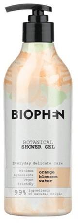 BIOpha Organic Żel pod prysznic Biophen Botanical 400 ml Orange Blossom   Darmowa dostawa od 59 zł NN-KBI-G400-003