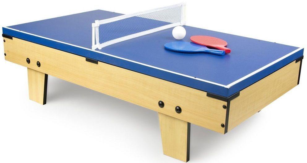 Krakpol Stół do gier 4w1 mini: PIŁKARZYKI BILARD TENIS HOKEJ 110/246210