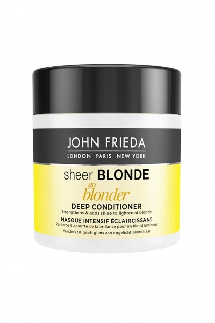 JohnFrieda Rozświetlająca i głęboko wzmacniająca odżywka do włosów blond 250ml JohnFrieda