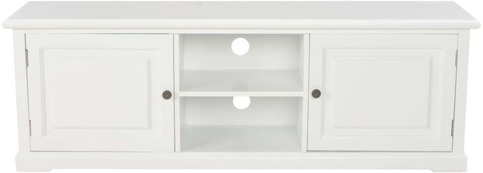 vidaXL Szafka pod TV, biała, 120 x 30 x 40 cm, drewniana
