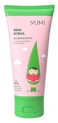 YUMI YUMI aloesowy żel pod prysznic Aloe Arbuz 200 ml Arbuz | SZYBKA WYSYŁKA!
