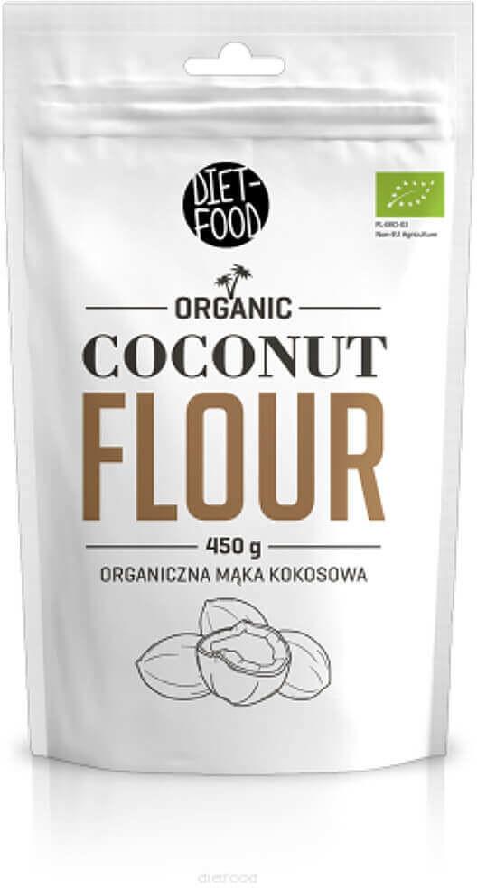 Food Diet Diet Bio mąka kokosowa 450g