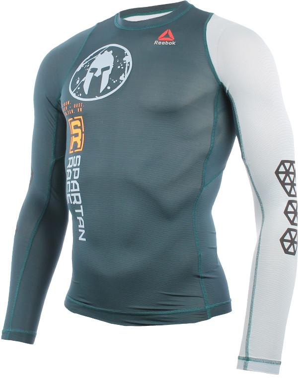 Reebok koszulka do biegania męska REEBOK SPARTAN LONG SLEEVE COMPRESSION TEE / S99816 RUR-0126/S