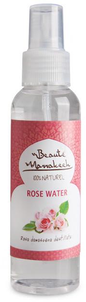 Beaute Marrakech Naturalna woda różana hydrolat Rosa Damascena spray 125ML