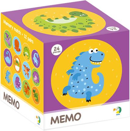 TM Toys DODO Minigra memory Dinozaury