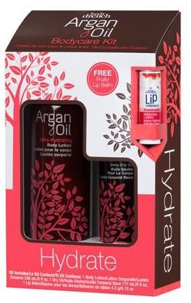 Body Drench Argan Oil Hydrate Body Kit zestaw balsam i emulsja #20718